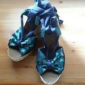 Marc Jacobs sequin espadrilles